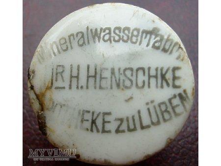 Dr Henschke Mineralwasser Fabrik Apotheke Luben