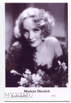 Marlene Dietrich Swiftsure Postcards 17/2