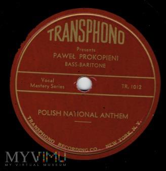 Hymn Narodowy-Prokopieni