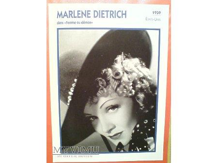 Marlene Dietrich Destry Rides Again 1939 FRANCJA