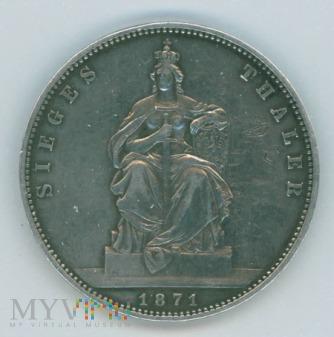 1 Talar- Prusy- 1871