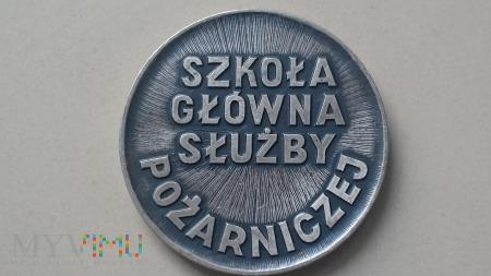 Medal Pamiątkowy-Szkoła Główna Służby Pożarniczej