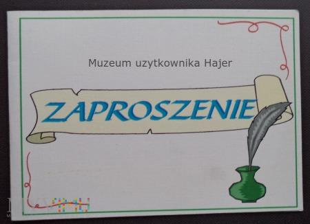 """KWK """" Halemba """" Zaproszenie 2004 rok"""