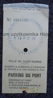 Ville De Saint - Tropez Parking Du Port