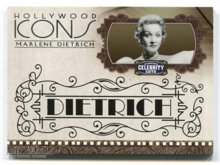 Marlene Dietrich karta kolekcjonerska nr 73 i 45