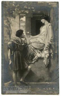 J.W. Godward - On i Ona