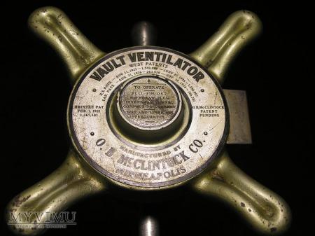 McClintock Vault Ventilator Plug-Medium