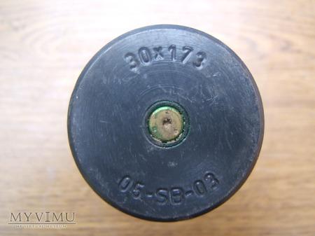 Łuska kalibru 30mm do działka Gatlinga
