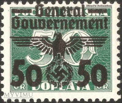 """35-39 """"Dopłata pocztowa"""""""