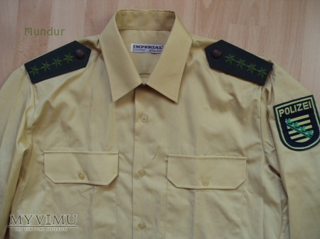 Polizei Sachsen - koszula służbowa