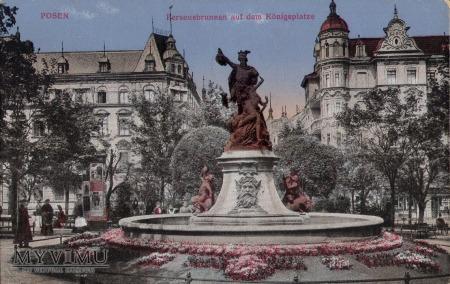 Fontanna Perseusza w Poznaniu