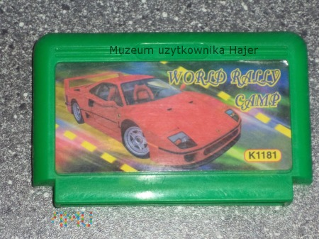 WORLD RALLY CAMP K1181 Kartridż Pegasus