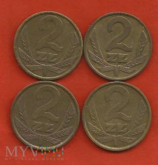 Polska 2 złote, 1978/1979/1980/1981