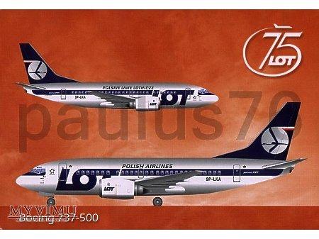Boeing 737-55D, SP-LKA
