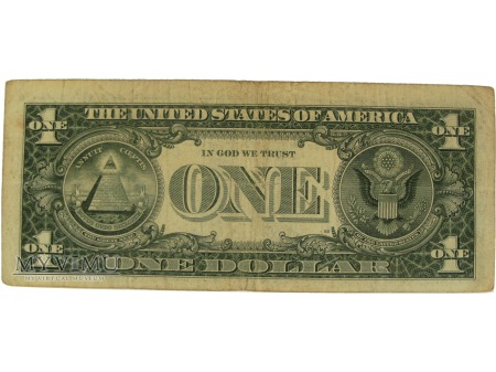 1 dolar, USA, 1988 rok.