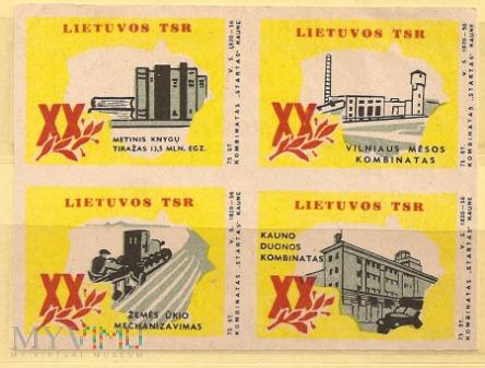 20 lat Litewskiej SRR. Wydanie 2.1960.2