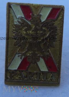 Partia X - odznaka