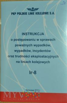 2012 - Instrukcja w sprawach wypadków kol. Ir-8