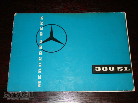 Prospekt MERCEDES 300SL