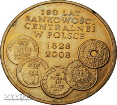 """""""180 lat bankowości centralnej w Polsce"""", 2009 rok"""
