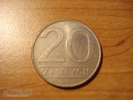 20 ZŁ zbiór 4 monet