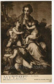 Del Sarto - Macierzyństwo klasyczne - La Charite