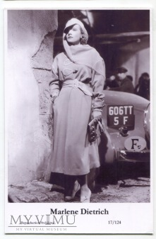 Marlene Dietrich Swiftsure Postcards 17/124