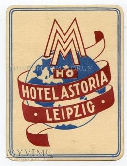 """Duże zdjęcie NRD - Leipzig - Hotel """"Astoria"""""""