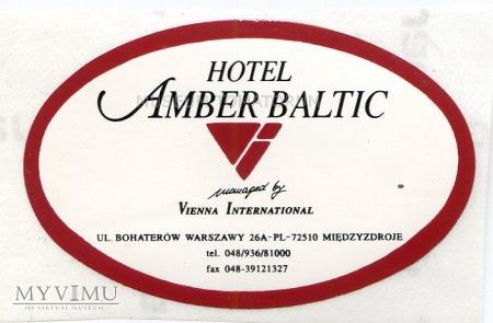 Nalepka hotelowa - Międzyzdroje - Hotel Amber Balt