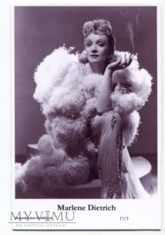 Marlene Dietrich Swiftsure Postcards 17/3