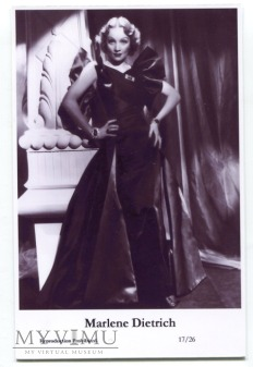 Marlene Dietrich Swiftsure Postcards 17/26