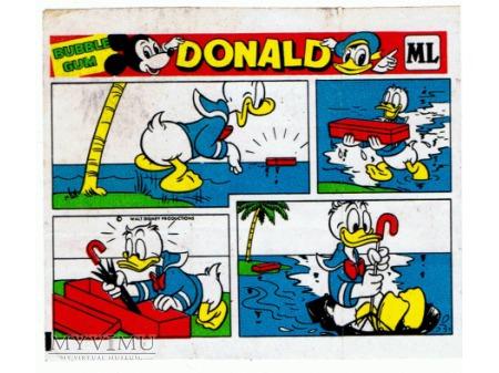 Historyjka z gumy Donald.