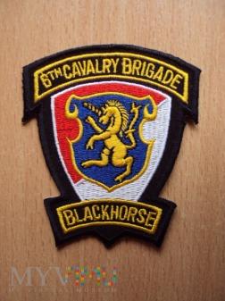 """Emblemat """"6 CAVALRY BRIGADE"""""""