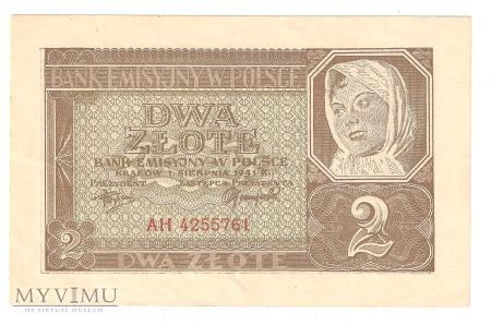 2 złote 1941r.