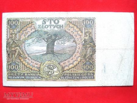 100 złotych 1932 rok