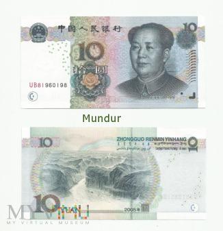 Banknot: 10 yuan