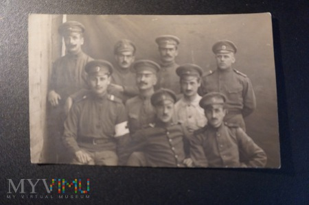 Duże zdjęcie Zdjęcie żołnierzy - grupowe na pamiątkę