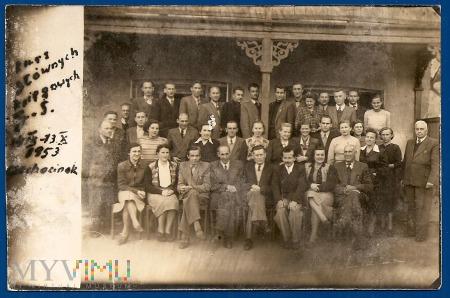 26a-Kurs głównych księgowych G.S.-14.9-13.10.1953.