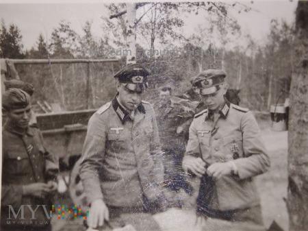 niemieckie dowództwo podczas narady (?)