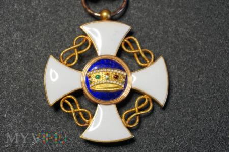 Order Korony Włoch - Krzyż Kawalerski