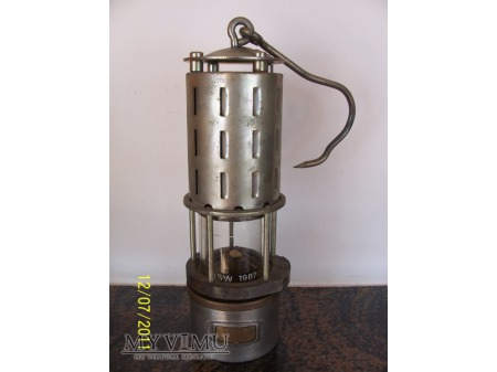 LAMPA GÓRNICZA BENZYNOWA - typ Lb-1A - 1987rok