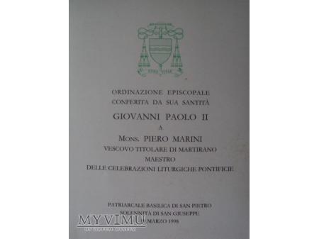 Obrazek Abp Piero Marini