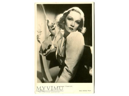 Marlene Dietrich Ballerini Fratini Postcard 3866