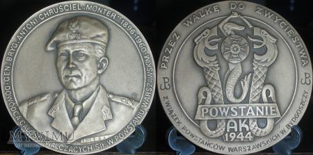 020. MONTER-Gen.Brygady Antoni Chruściel.Wersja I