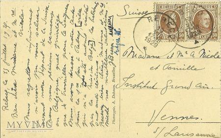 Bruksela - Belgia - 1929 r.