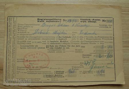 kwit, Generalne Gubernatorstwo, 1940 - 1943