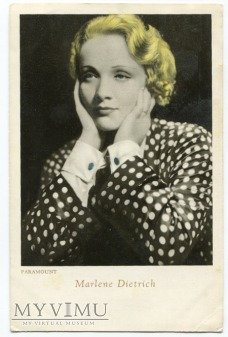 Marlene Dietrich Cinema - Illustrazione Milano