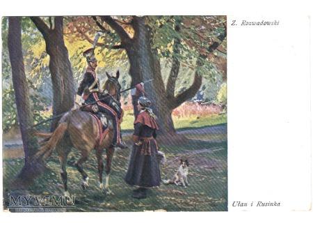 Ułan i Rusinka - Z.Rozwadowski.