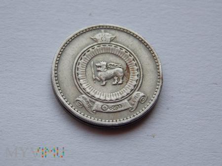 25 CENTÓW 1971- CEJLON