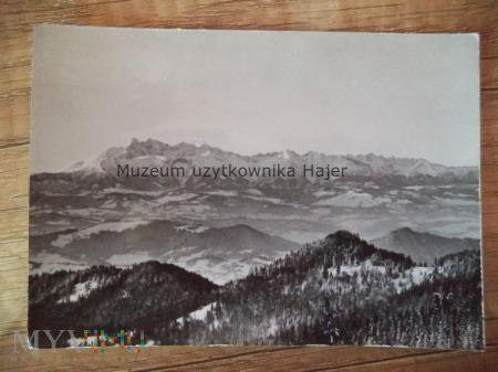 BESKID SĄDECKI - Przehyba (1175 m) Widok na Tatry